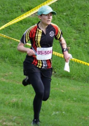 Mel Gangemi, W35 Sprint winner